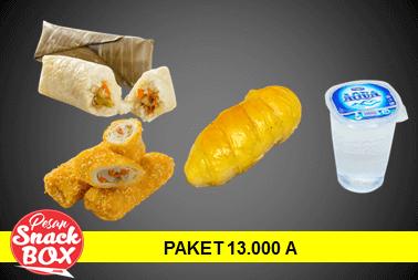 Harga Snack Box 13.000 A